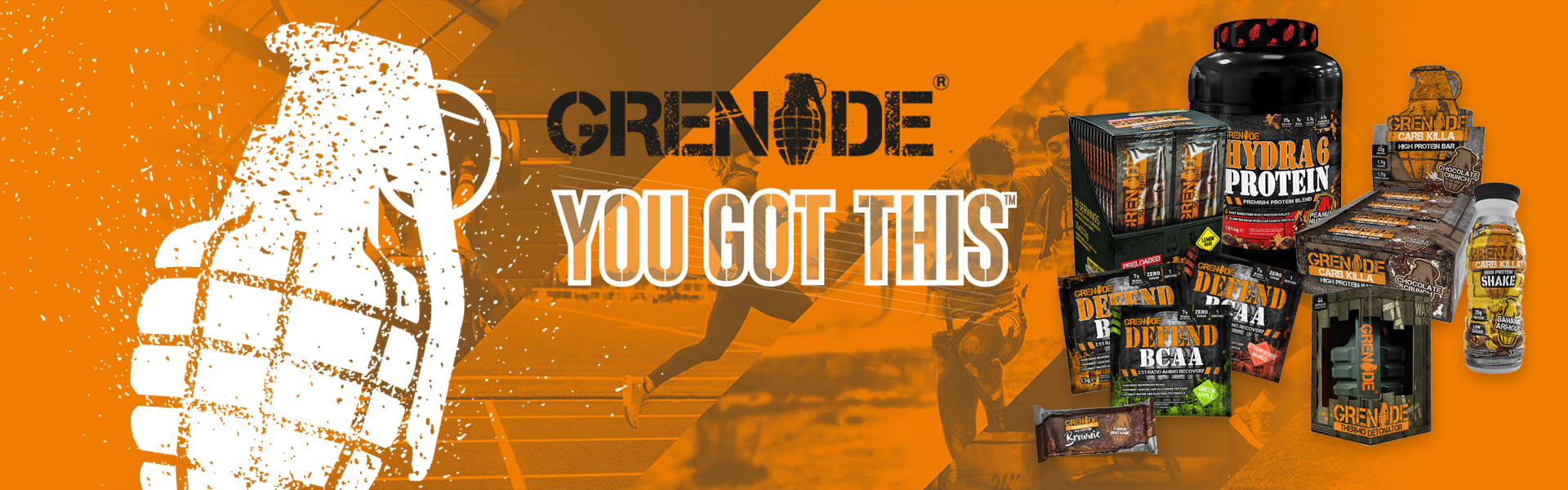Grenade All Products