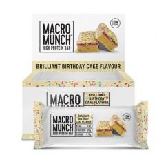 Bulk Powders MACRO MUNCH™ Protein Bar 12 x 62g
