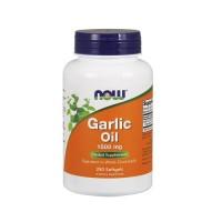 NOW Garlic Oil 1500mg 250 Soft Gels