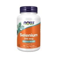 NOW Selenium 200mcg 180 Capsules