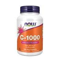 NOW C-1000 With Bioflavonoids 100 Veg. Capsules