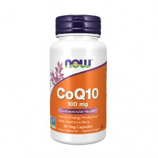 NOW CoQ10 100mg 90 Veg. Capsules With Hawthron Berry