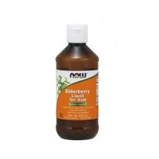 NOW Elderberry Liquid for kids 237ml (8 fl. OZ.)