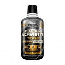 MuscleTech Platinum L-Carnitine 1500 473ml Citrus Splash Flavor