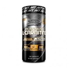 MuscleTech Platinum 100% L-Carnitine 180 Capsules