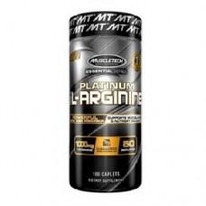 MuscleTech Platinum 100% L-Arginine 100 Capsules