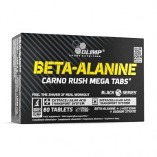 Olimp® Beta-Alanine Carno Rush Mega Tabs 80 Tablets