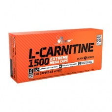 Olimp® L-Carnitine 1500 Extreme Mega Caps 120 Capsules