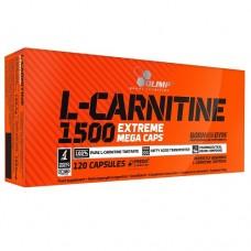 Olimp® L-Carnitine 1500 Extreme Mega Caps 120 caps.