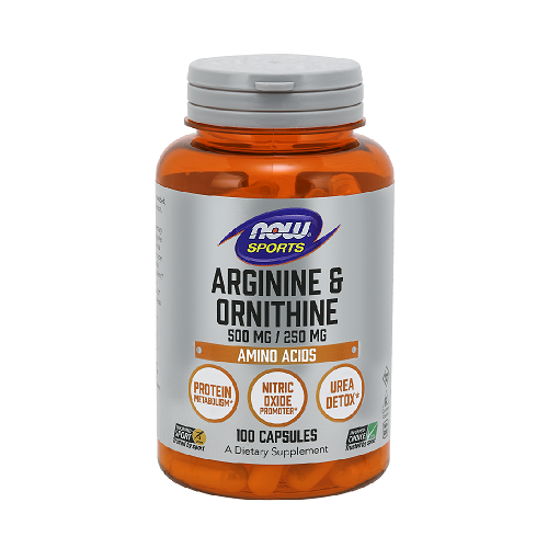 NOW Arginine Ir Ornithine...
