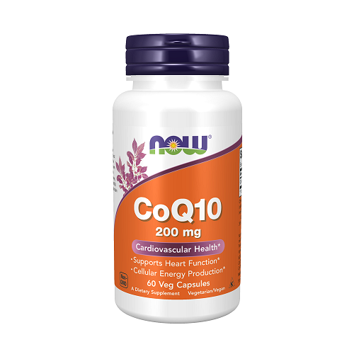 NOW CoQ10 200mg 60 Veg....
