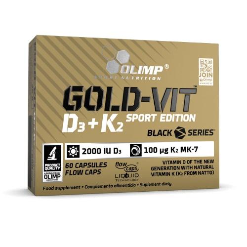 Olimp® Gold-Vit™ D3+K2...