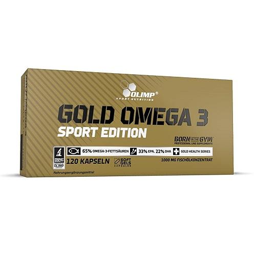 Olimp® Gold Omega 3 Sport Edition 120 kaps.